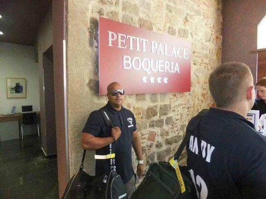 Hotel Petit Palace Boqueria Garden: Reception