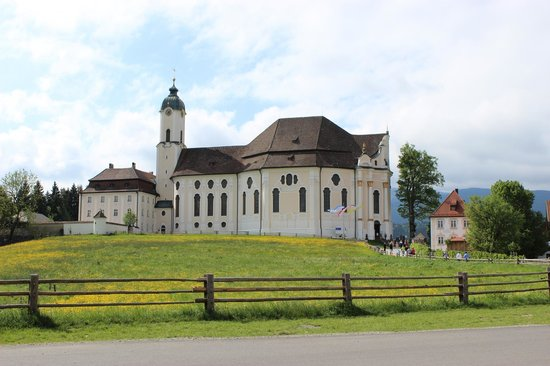 Wieskirche: Church.