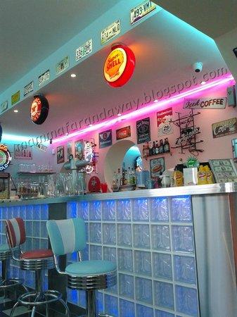 Little Rock Diner : Il bancone