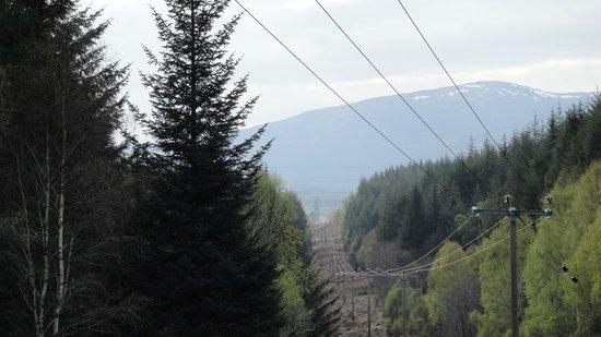 Parkdean - Tummel Valley Holiday Park: Start of forest walk