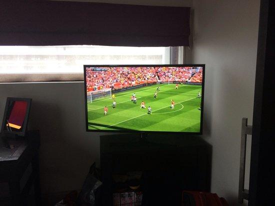 Malmaison Liverpool: Big television