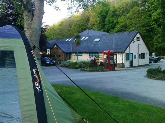Mill Park Touring Caravan & Camping Park : Reception/pub/shop