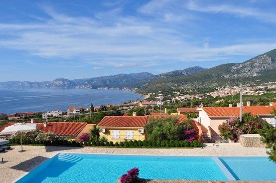 Hotel Villa Gustui Maris: panorama dalla stanza