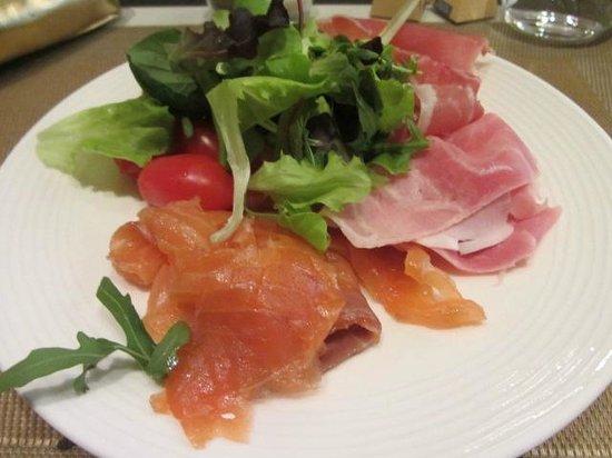 Palazzo Victoria: Fresh salads.