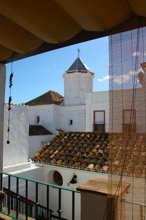 La Villa Marbella: Terrace looking onto the church