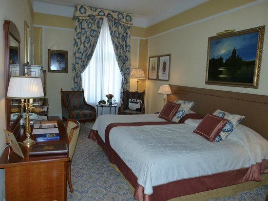 Belmond Grand Hotel Europe: Spacious Rooms