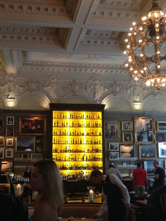 The London EDITION: The Restaurant with 211 paintings- apparently