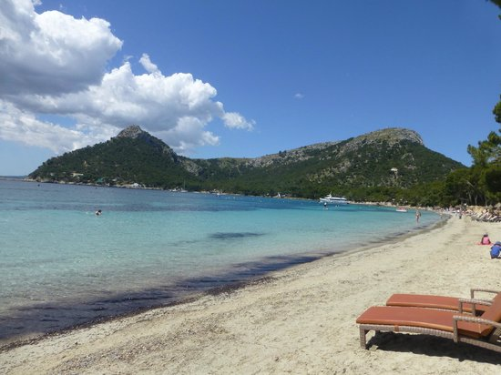 Formentor, a Royal Hideaway Hotel: The beach