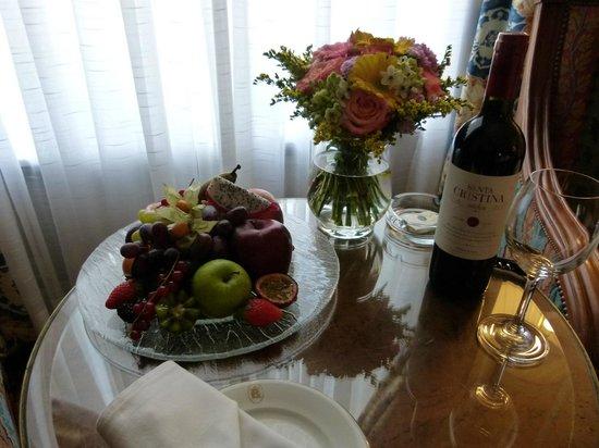 Belmond Grand Hotel Europe: Treats on arrival