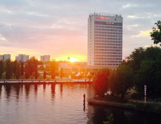 Mercure Hotel Potsdam City : Potsdam sunset