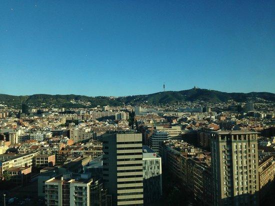 Gran Hotel Torre Catalunya: View from room