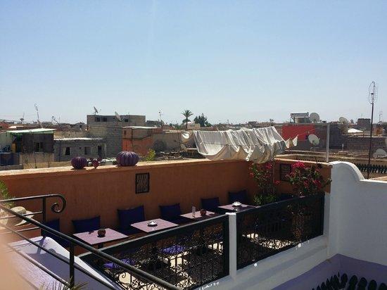 Riad Houdou: Roof terrace
