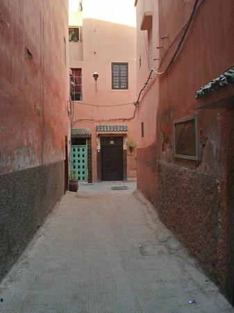 Riad Houdou : Hotel entrance