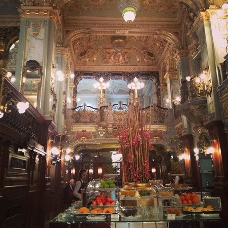 Boscolo Budapest, Autograph Collection : Breakfast in the New York Cafe