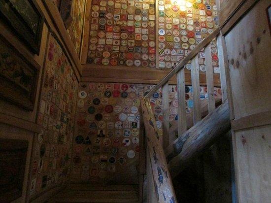 Antigua Casona Patagonia B&B : Escalera