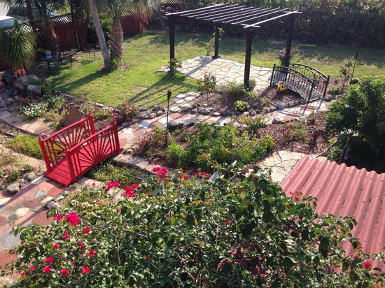 Casa Coquina Bed and Breakfast : Beautiful garden