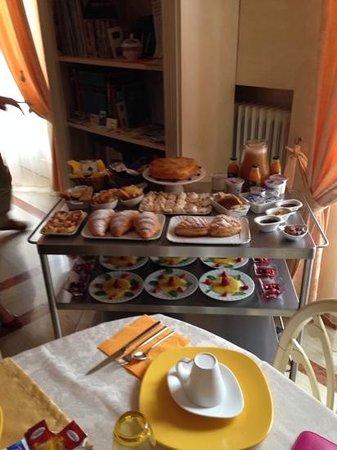 B&B Il Cielo in Una Casa: la colazione