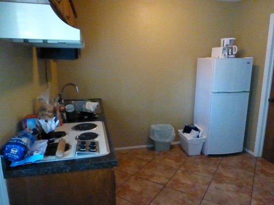Grandpappy Point : Küchenbereich