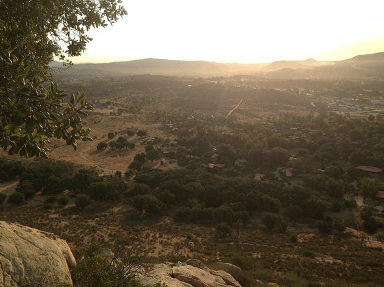 Rancho La Puerta Spa: Morning hike in the hills