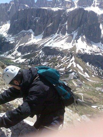Val Gardena: 2009 ferrata Gran Cir.