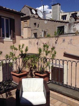 Residenza Canali ai Coronari: Sunny terrace