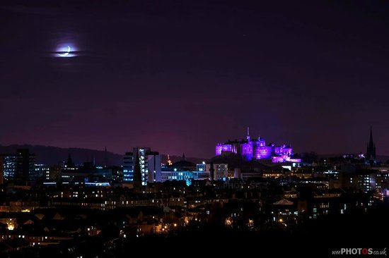The Royal Edinburgh Military Tattoo: The Castle at night