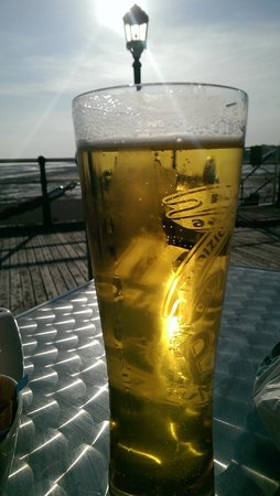 Peroni on Worthing Pier Pavilion