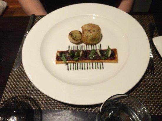 Castle Terrace Restaurant: starter
