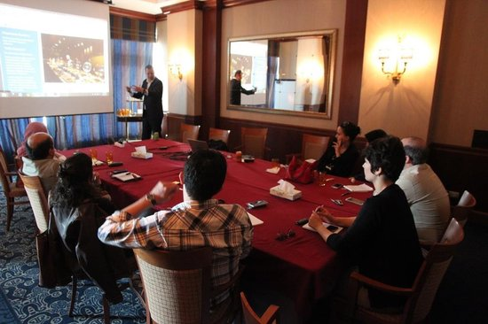 "Sheraton Oran Hotel : The Venue ""Saida Meeting Room"""