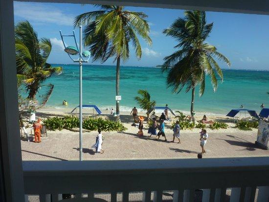 Hotel Bahia Sardina: Vista desde el 2do Piso