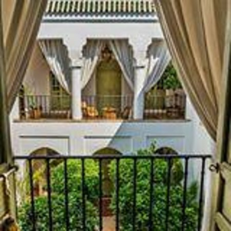 Riad Camilia: View of the courtyard from Suite 4