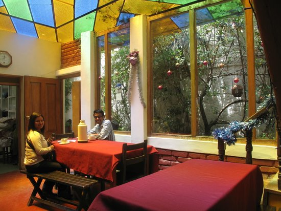 Casa de Mama Cusco 2-The Ecohouse: area de desayuno