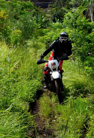 Pupuan, Indonesia: Bali Dirt Bike Tours, on Husqvarna TE250