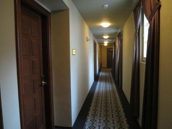 Hotel Grandezza : Outside the room