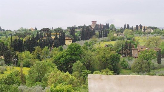 Villa Tolomei Hotel and Resort : view from our bedroom!