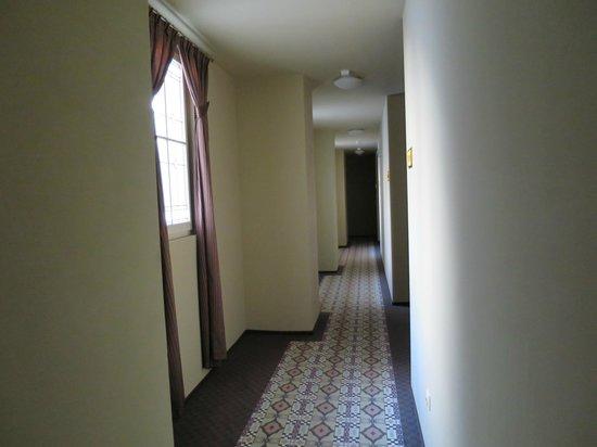 Hotel Grandezza: Outside the room