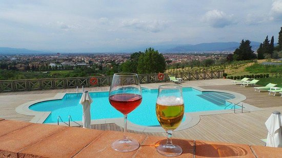 Villa Tolomei Hotel and Resort : just arrived!