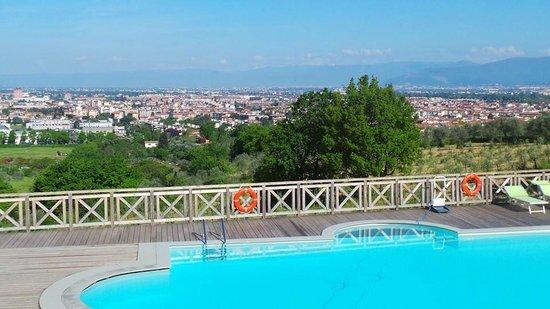 Villa Tolomei Hotel and Resort : florence from the veranda