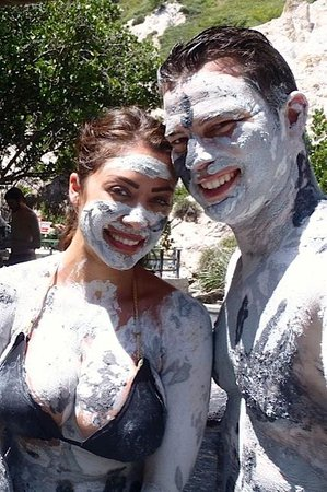 Ladera Resort: Mudbath is a must do while you are in the southern part of St. Lucia, close to Ladera!