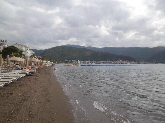 Mehtap Beach Hotel: Береговая линия