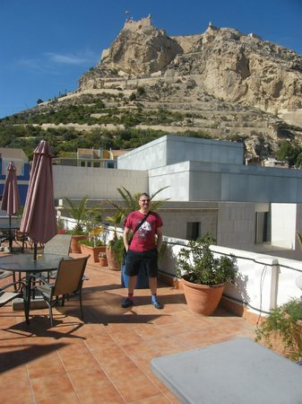 La Milagrosa Bed & Breakfast : The lovely terrace view