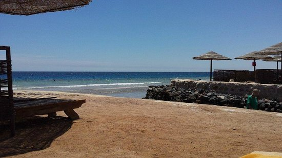 The Makadi Palace Hotel: the beach, the stones hurt so wear shoes at all times