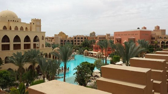 The Makadi Palace Hotel: view from our room... stunning