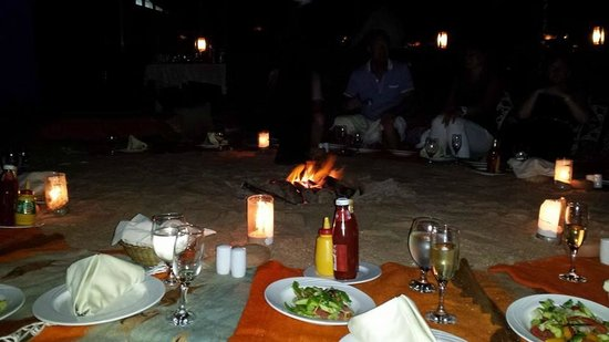 The Makadi Palace Hotel: the beach party/managers bbq