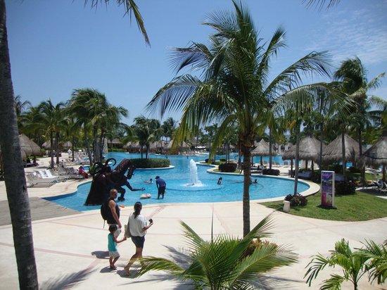 Mayan Palace Riviera Maya: Area de Piscina