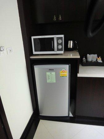 LK Royal Wing : Кухня в номере студио