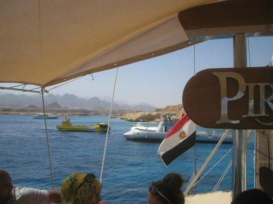 Tirana Aqua Park Resort : Pirate boat trip