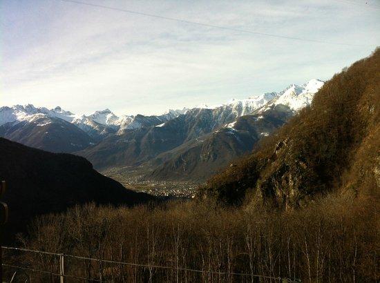 Rifugio Savogno : Вид из окна