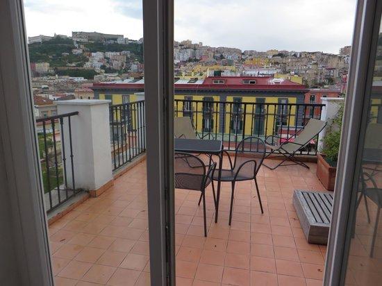 Hotel Piazza Bellini : Room 507 Terrace