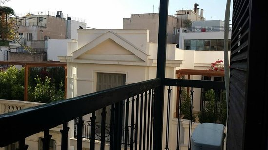Omiros Hotel: Balcony of the room